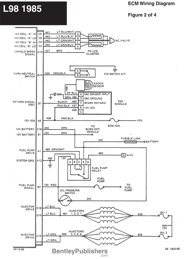 Excellent 1986 Corvette Ecm Wiring Wiring Diagram B2 Wiring Digital Resources Inamapmognl