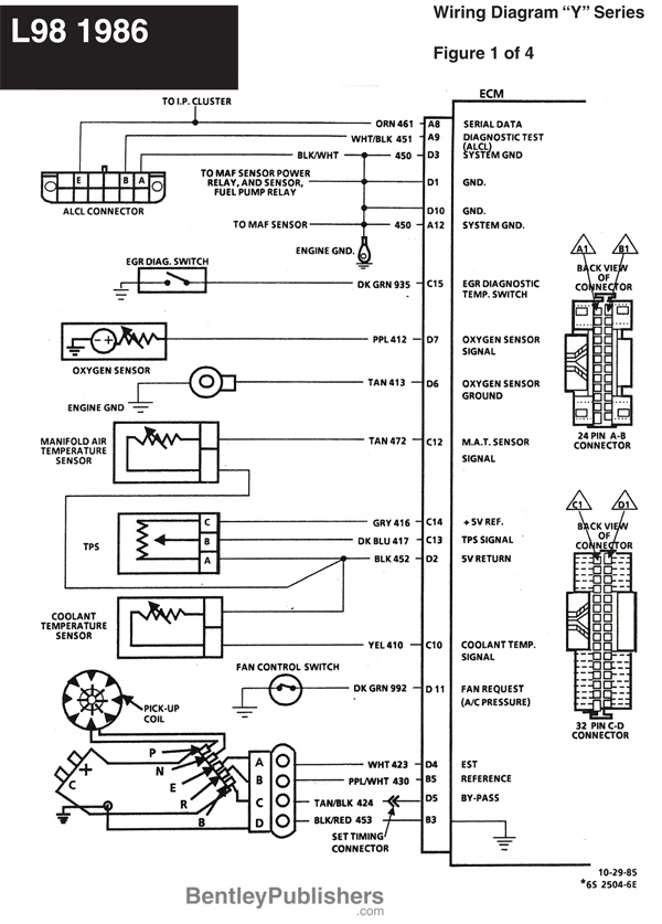 Diagram Additionally Pcm Pinout Wiring Diagram On C4 ... on 1986 corvette radio wiring diagram, 78 corvette radio wiring diagram, 86 corvette fuse diagram,