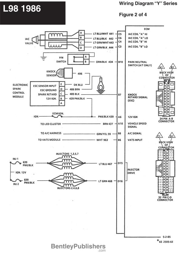 l98 corvette wire diagrams grumpys performance garage rh garage grumpysperformance com Flamethrower Distributor Wiring Diagram Mopar Ballast Resistor Wiring Diagram