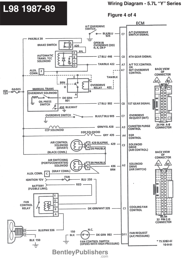 l98 corvette wire diagrams