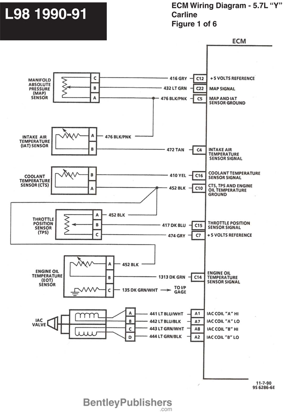 GFCV L98 engine wiring 1990 91 1 l98 corvette wire diagrams grumpys performance garage 1990 corvette a/c wiring diagram at gsmportal.co