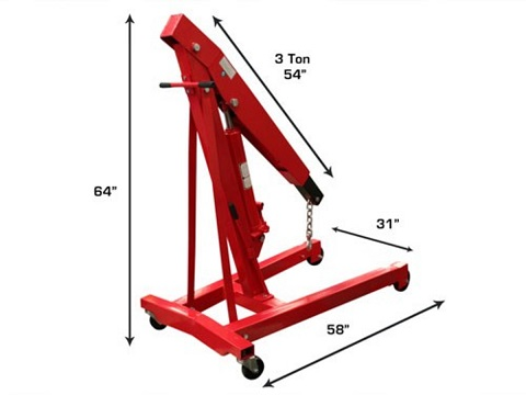 A-frame for engine hoist value vs price and options | Grumpys ...