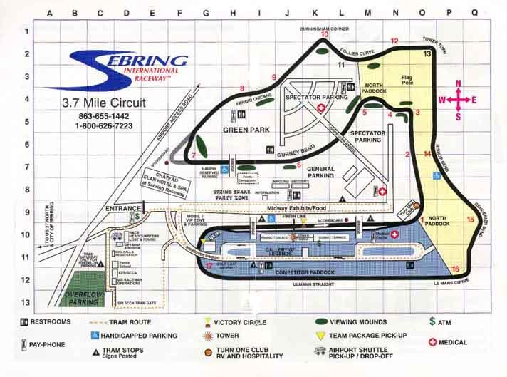 Sebring Raceway Logo