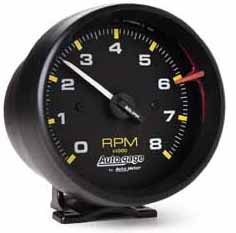 Where does the rpm gauge hook up to