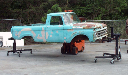 how to build a car lift