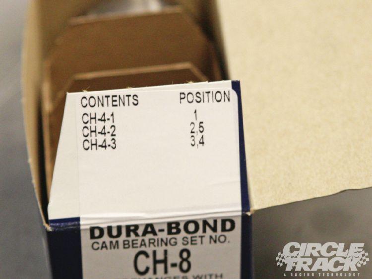 how to change cam bearings on sbc