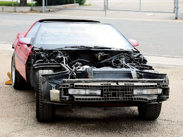 c4 bumper replacement and upgrade Grumpys Performance Garage