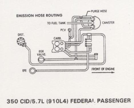 4 9 Ford Vacuum Diagram 1979