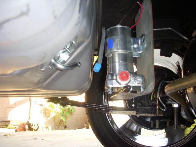 Holley fuel pump installation diagram wiring diagram fuel seepage issues grumpys performance garage chevy fuel pump relay diagram holley fuel pump installation diagram publicscrutiny Gallery