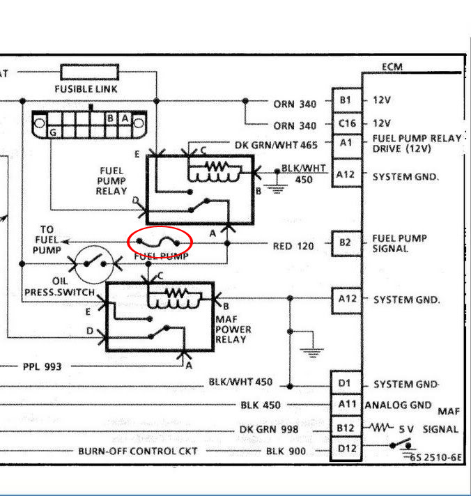 fuelpump 1 replacing a c 4 fuel pump grumpys performance garage 1984 corvette wiring diagram schematic at crackthecode.co