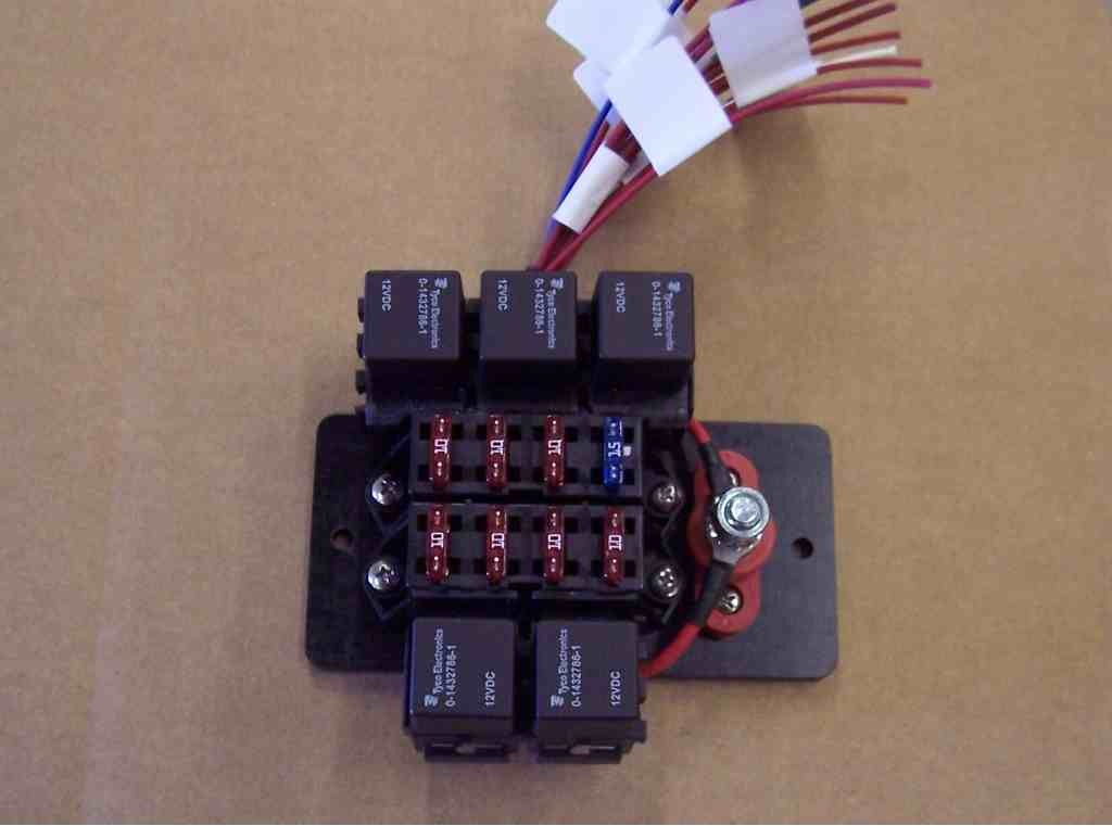 motorcycle fuse and relay box wiring diagram online Motorcycle Fuse Block Kit electrical wiring for a tbucket grumpys performance garage motorcycle fuse block kit motorcycle fuse and relay box