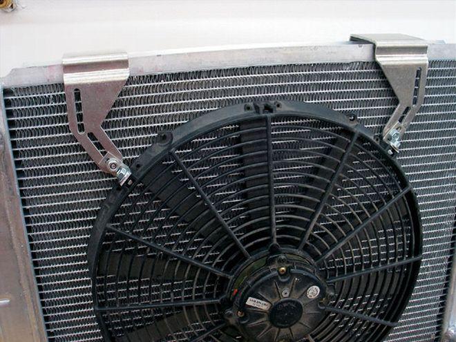Fan Mounting Hardware : Mounting an auxiliary electric fan grumpys performance