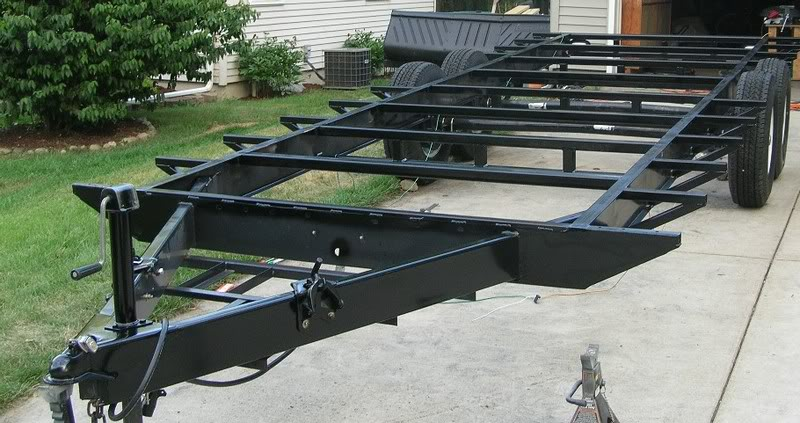 How many guys have built there own car trailer grumpys for How to build your own house in florida