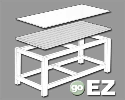 work bench plans – Plans For Building A Workbench In A Garage